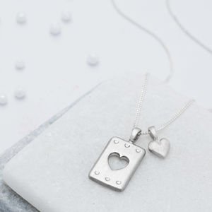 Have A Heart Necklace - gifts for grandmothers