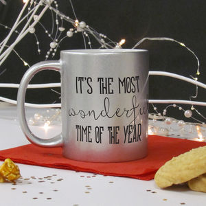 Christmas It's The Most Wonderful Time Of The Year Mug