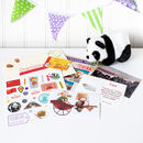 China Themed Activity Set With Cuddly Panda