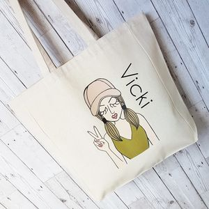 'Miss Sassy' Personalised Tote Bag