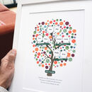 Personalised Family Tree For Grandparents