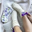 Bed Socks And Eye Mask Travel Gift