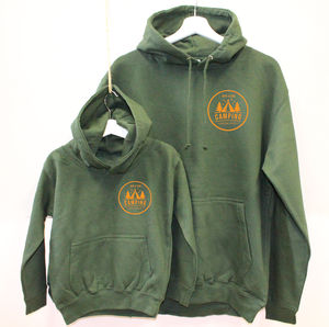 Dad And Child Matching Camping Hoodies - children's dad & me sets