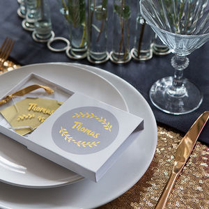 Alternative Cracker With Personalised Decoration - crackers