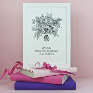 Bridesmaid Gift Print