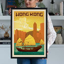 Hong Kong Travel Print