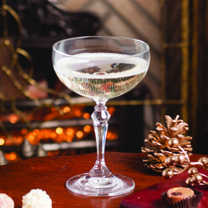 Luxury Entertaining Champagne Saucer Glass - festive party ideas