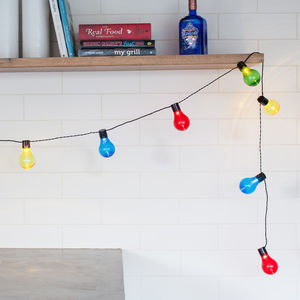 Carnival Battery Festoon Lights - fairy lights & string lights
