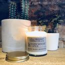 Warm Woods + Spice Scented Natural Soy Candle