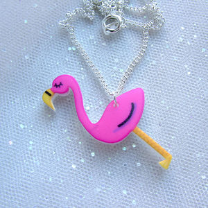 Flamingo Fashion Necklace - children's jewellery
