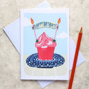 'Cupcake' Birthday Card