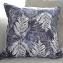 Fern Linen Cushion Cover
