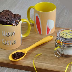 Dairy free and vegan easter chocolate notonthehighstreet dairy free personalised easter bunny mug cake gift set negle Images