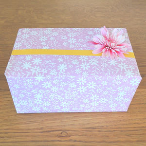 Ditzy Flower Wrapping Paper