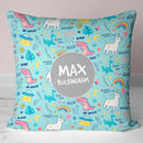 Personalised Children's Name Cushion