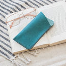 Leather Glasses Case With Free Personalisation