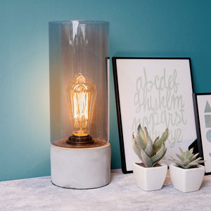 Edison Bulb Table Lamp - table lamps