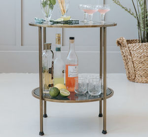 Cocktail Circular Side Table - furniture
