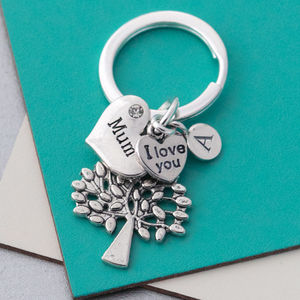 Mum Keyring - women's accessories
