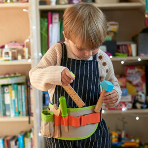 Personalised Toy Tool Belt - gifts: under £25
