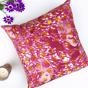 Russian Doll Printed Velvet Cushion Cover