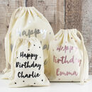 Happy Birthday Personalised Gift Bags