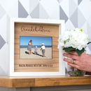 Personalised Grandchildren Engraved Photo Frame