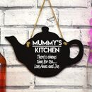 Personalised Teapot Sign
