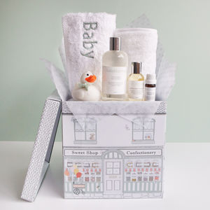 Baby Bathtime Hamper