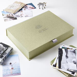 Personalised Family Tree Memory Box