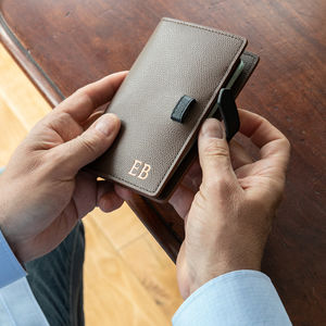 Two Tone Luxury Leather Passport Cover - luxury gifts for him