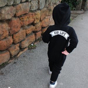'Kid Life' Hooded Onesie - clothing