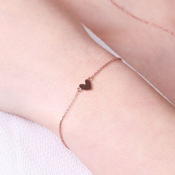 Shiny Heart Bracelet