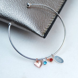 Friends For Life Charm Bangle