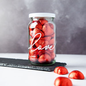 Love Personalised Storage Treat Jar