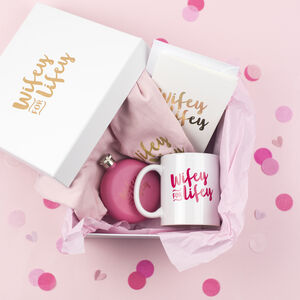Wifey For Lifey Wedding Gift Box
