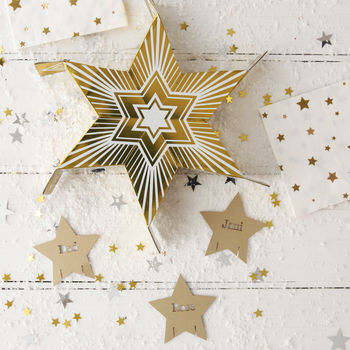 Gold Star Sharing Party Cracker Bundle
