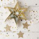 Gold Star Sharing Party Cracker