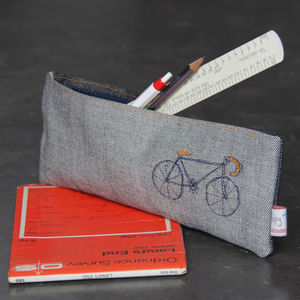 Bicycle Vintage Racer Bike Pouch