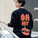 Oh My Gourd Women's Halloween Pumpkin Sweatshirt
