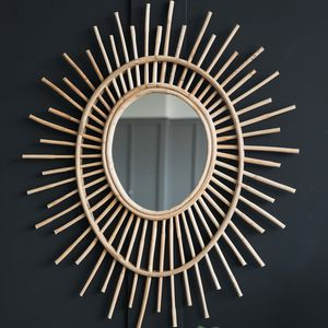 Bamboo Eye Mirror - mirrors