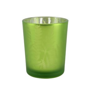 Green Botanic Tea Light Holder