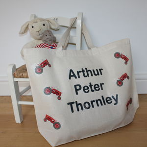 Child's Personalised Name Bag