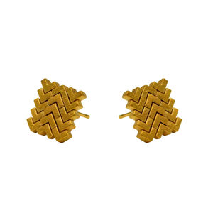 Sync Square Stud Earrings - earrings
