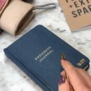 Personalised Pocket Progress Journal