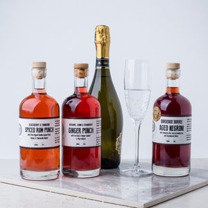 Craft Prosecco Cocktails - artisan alcohol