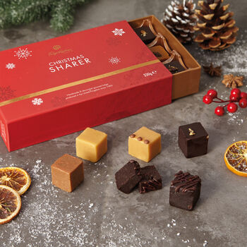 Christmas Fudge Sharer