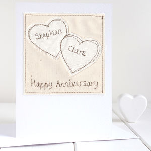 Personalised Wedding Anniversary Card - wedding cards & wrap