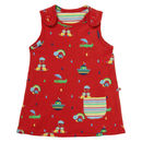 Rainbow Ark Reversible Baby Dress