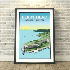 Berry Head, Brixham Devon Print
